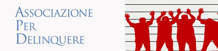 Associazione per delinquere Illustrazione