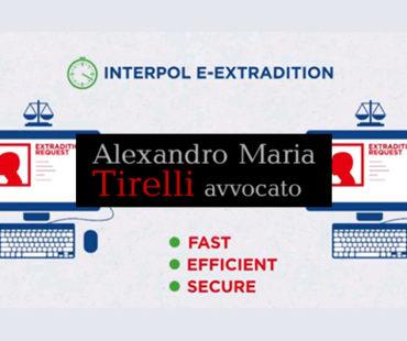 """Red notice, l'intervento dell'interpol anche in un paese """"terzo"""" rispetto al provvedimento di estradizione"""