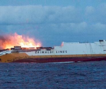 Roghi nelle navi Grimaldi: arrestato ufficiale della compagnia